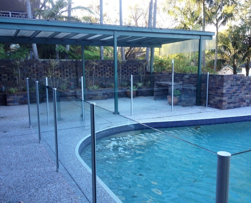 Semi-Frameless Glass - Elanora Heights