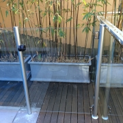 semi frameless glass gate Collaroy Plateau